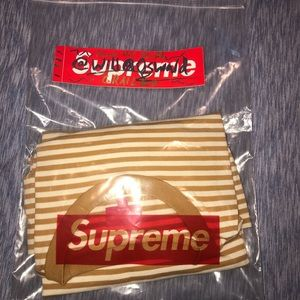 Supreme striped long sleeve